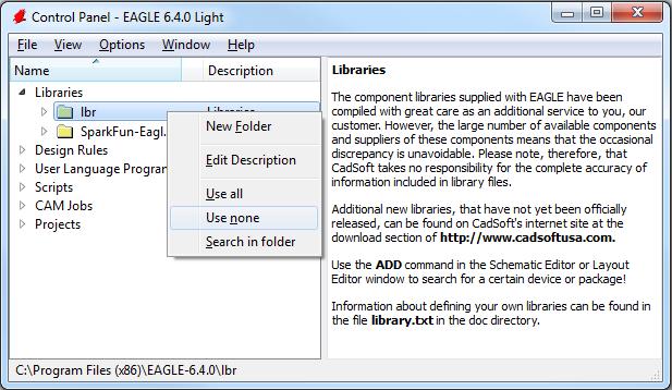 Eagle библиотеки каталог программ