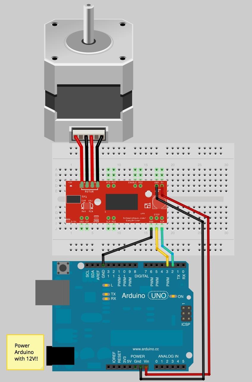 E D Ace F E on Mega Motor Shield Arduino