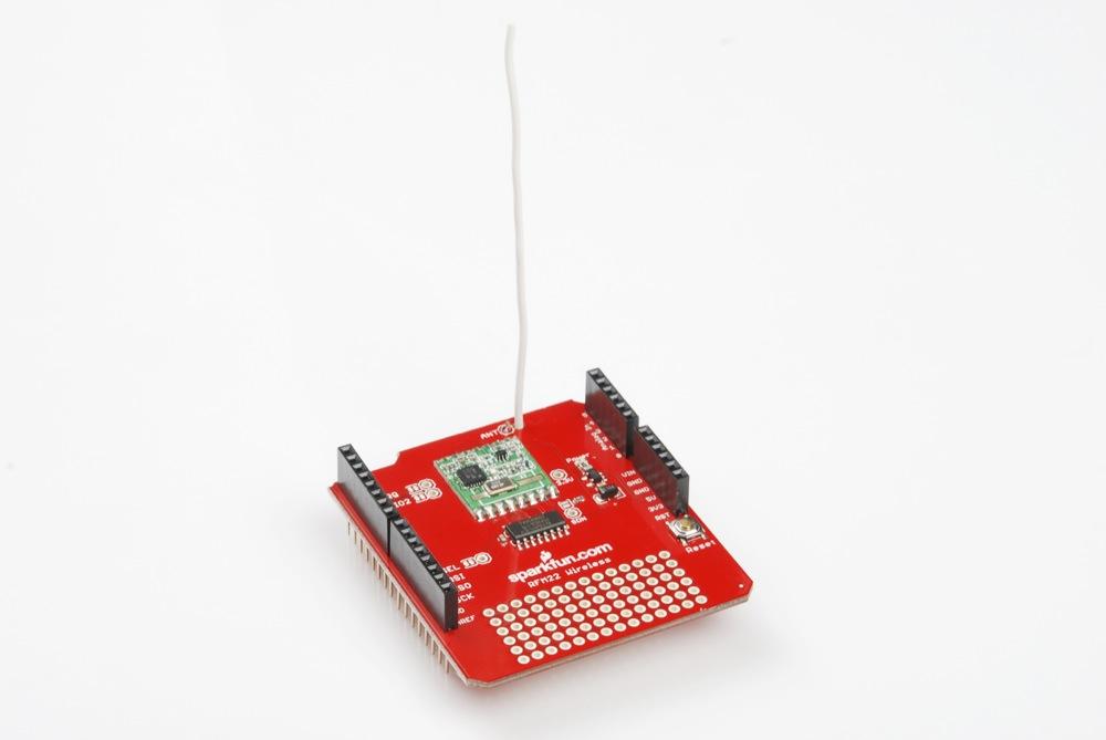 Rfm22 Shield Landing Page Sparkfun Electronics