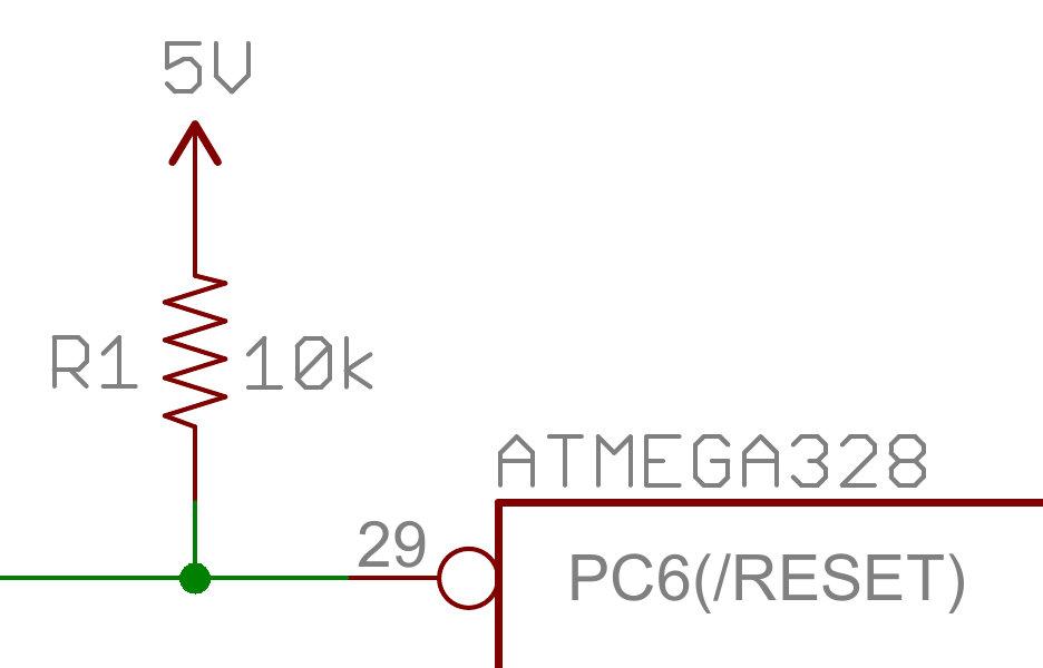 pull-up resistors