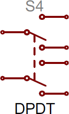 DPDT symbol
