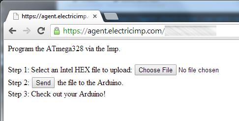 Imp Arduino Bootloader Screen
