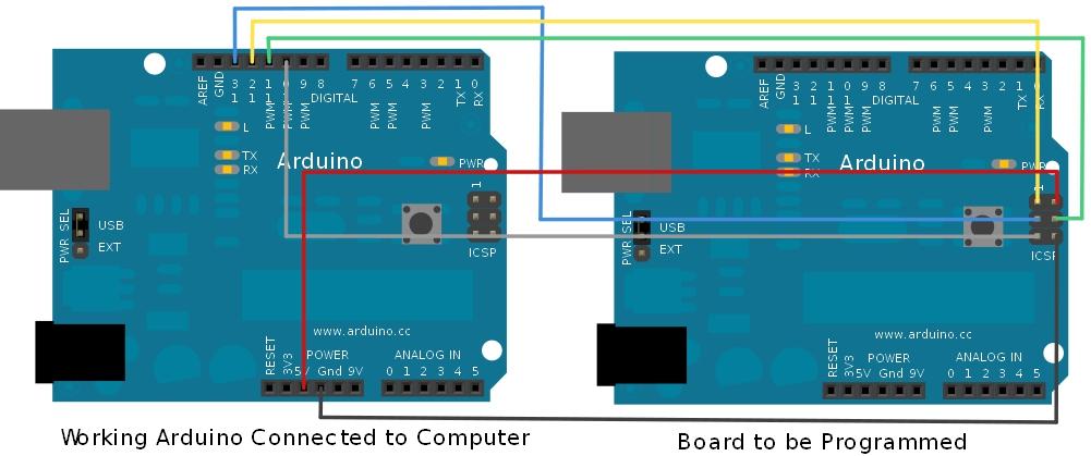 Installing an arduino bootloader learn sparkfun