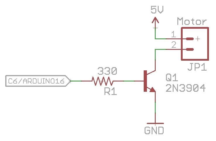 Basic motor control circuit