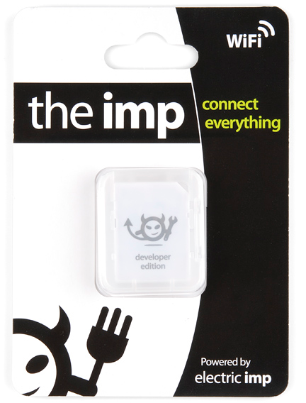 imp card boxed up