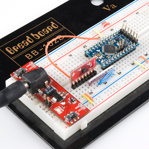 Breadboarded Pro Mini