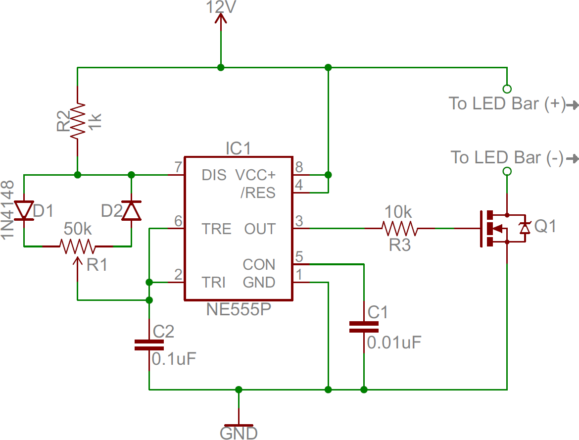 Led Dimmer Circuit 555 Calculator Http Wwwseekiccom Circuitdiagram Measuring Photos Of
