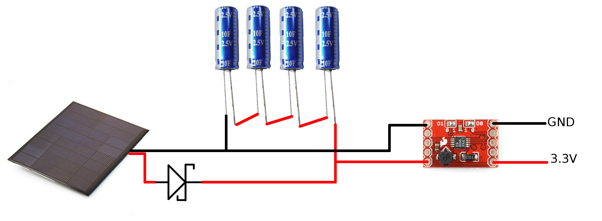 Car Battery Booster Capacitor