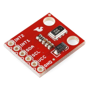 MPL3115A2 pressure sensor breakout board