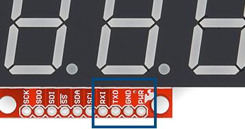 Serial pins