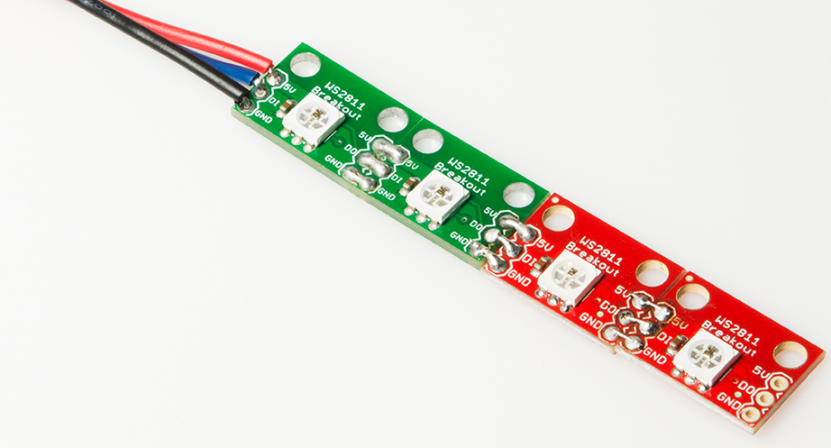 Ws2812 Breakout Hookup Guide Learn Sparkfun Com