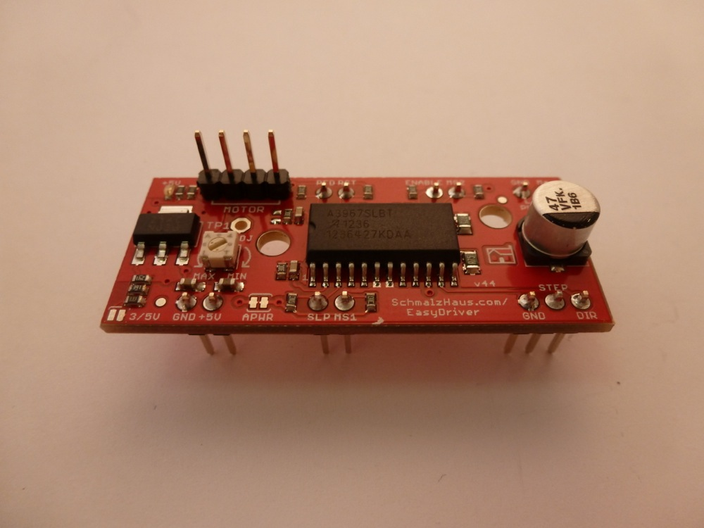 hook up stepper motor arduino This module has ease to connect and drive a dc motor or stepper motor allows  you to easily and intently control two motor up to 2a each in both.