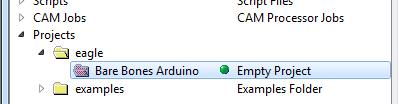 Project folder created