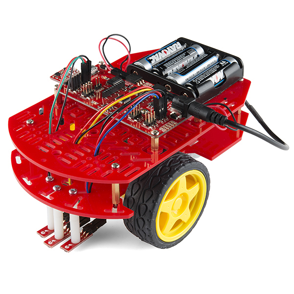 The assembled RedBot kit