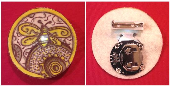 E-Textile Pin