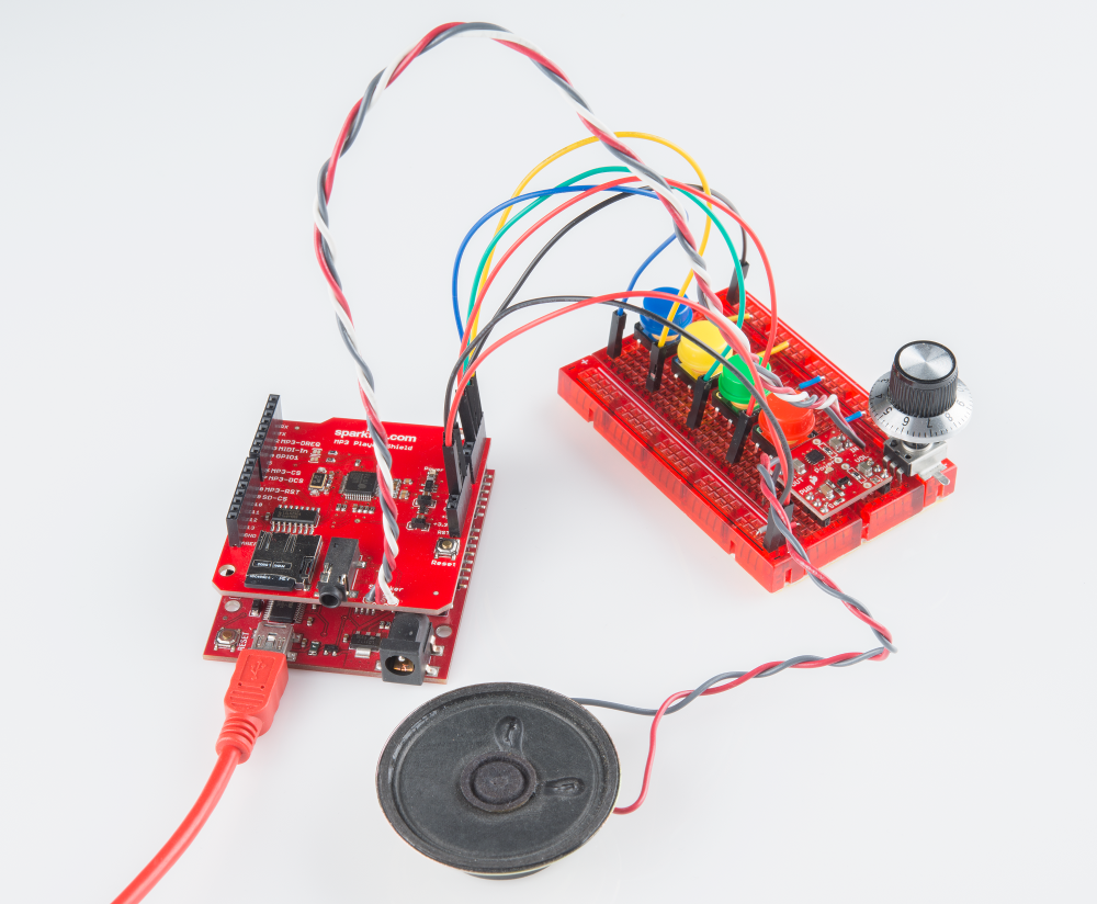 Speaker 05w 8 Ohm Com 09151 Sparkfun Electronics Electronic Bluetooth Circuit Board With One Kit 11 Parts