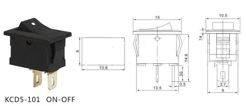 Wondrous 2 Prong Toggle Switch Wiring Diagram Led Pin Rocker Switch Wiring Wiring 101 Orsalhahutechinfo