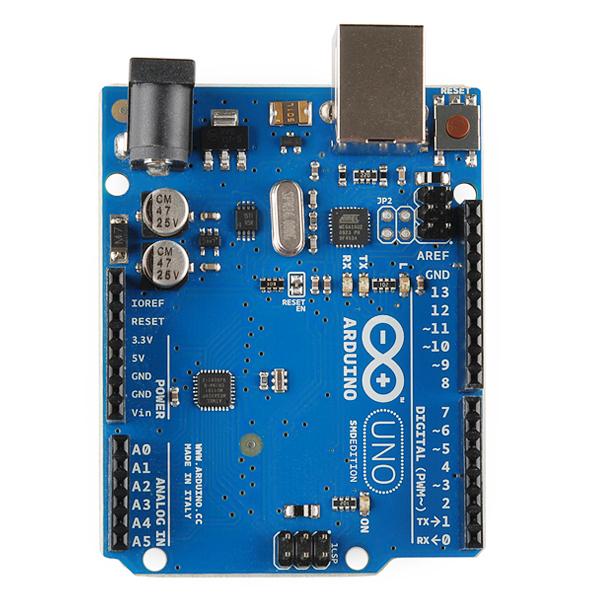 Arduino uno r smd dev sparkfun electronics