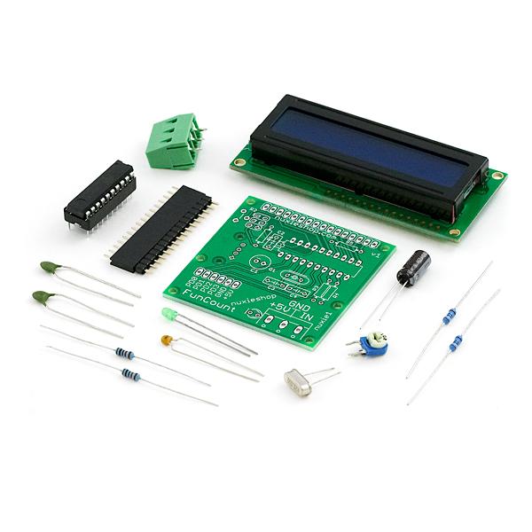 Frequency Meter Kit : Frequency counter kit elecena pl wyszukiwarka