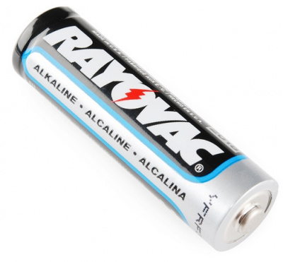 Good ol' AA alkaline battery