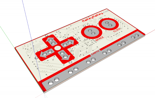 MaKey MaKey EagleUP SketchUp Model