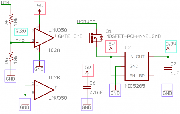 Annotated voltage node example