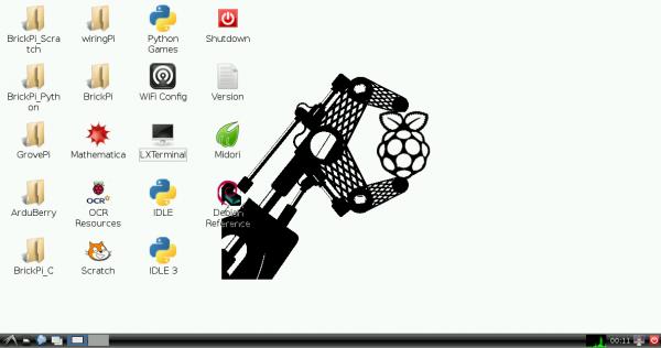 BrickPi Desktop