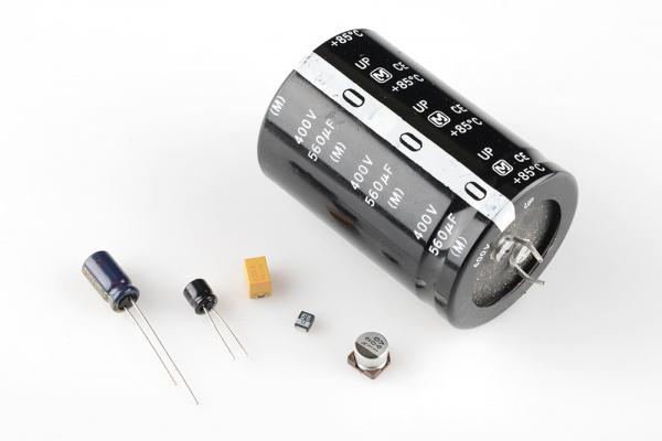 Electrolytic caps