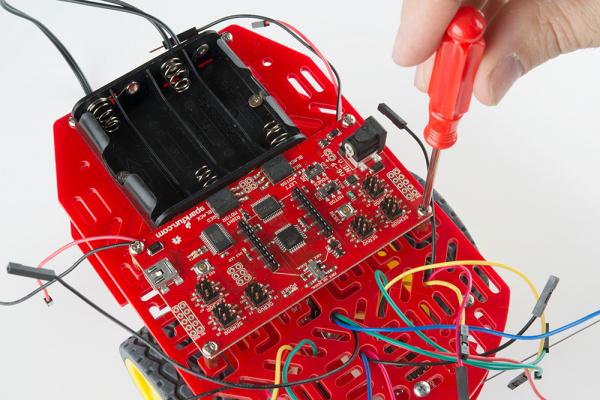 Adding RedBot mainboard