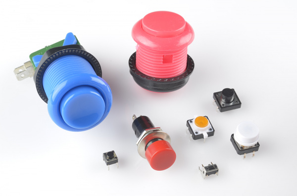 Assortment of tactile switches