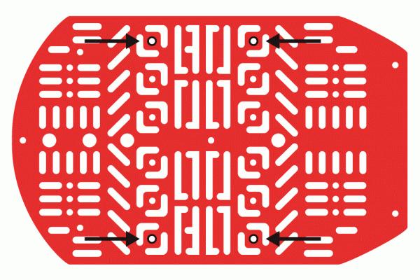 Stand offs for RedBot Mainboard