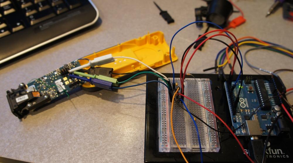 Laser Tape Measure Hacking - SparkFun Electronics