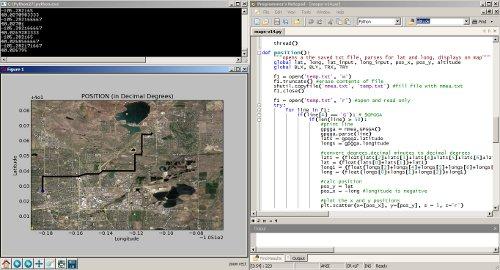Python och GPS-spårning